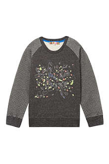 ANNE KURRIS Embroidered Bambi sweatshirt 2-12 years