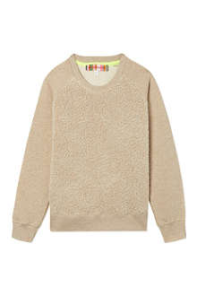 ANNE KURRIS Faux-fur sweatshirt 2-12 years