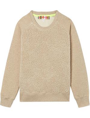 ANNE KURRIS Faux-fur sweatshirt 2-12 years