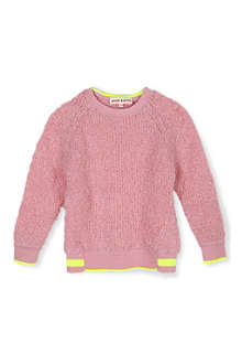 ANNE KURRIS Fluffy knitted jumper 2-12 years