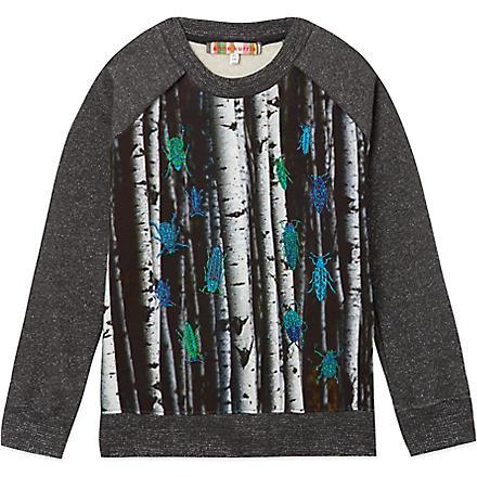 ANNE KURRIS Metal bug sweatshirt 2-12 years (Grey