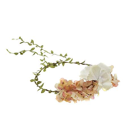 ELFIE Flower crown large (White / pink