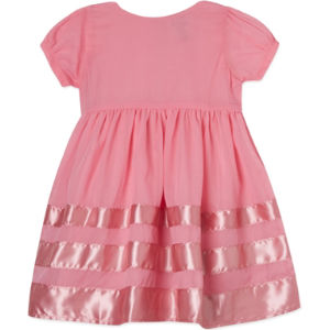 Violet ribboned party dress 2-8 years