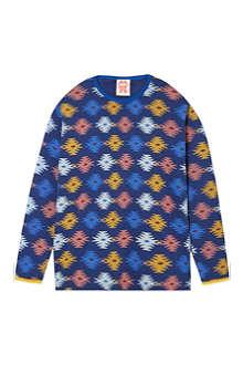 TOOTSA MACGINTY Aztec print t-shirt 2-8 years