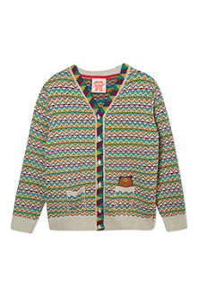 TOOTSA MACGINTY Fairisle knitted cardigan 2-8 years