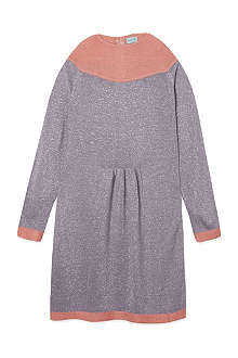 MINI A TURE Lurex sparkle dress 2-8 years