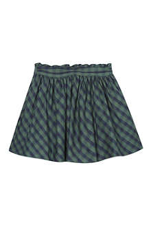 MINI A TURE Mini checked skater skirt 2-8 years