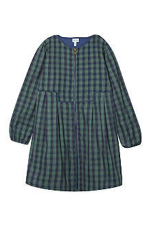 MINI A TURE Checked zip dress 2-8 years