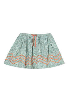 MINI A TURE Mini zig zag floral skirt 2-8 years