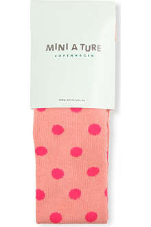 MINI A TURE Elka polka-dot tights 2-8 years