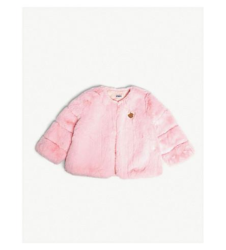 BANDITS GIRL Faux-fur jacket XS-L (Pink