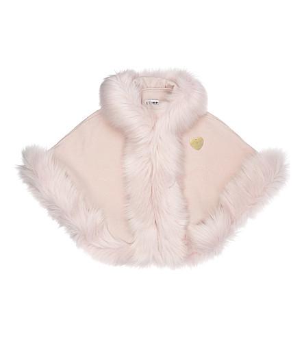 BANDITS GIRL Faux fur cape XS-XL (Pink