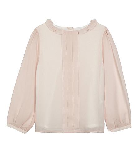 PATACHOU Ruffle collar blouse (Pink