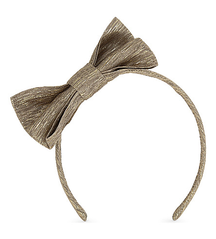 PATACHOU Metallic headband (Gold
