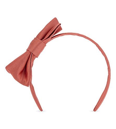 PATACHOU Satin headband (Red