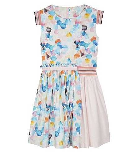 NO ADDED SUGAR Blink of an Eye fit & flare dress 4-12 years (Euphoria+pink