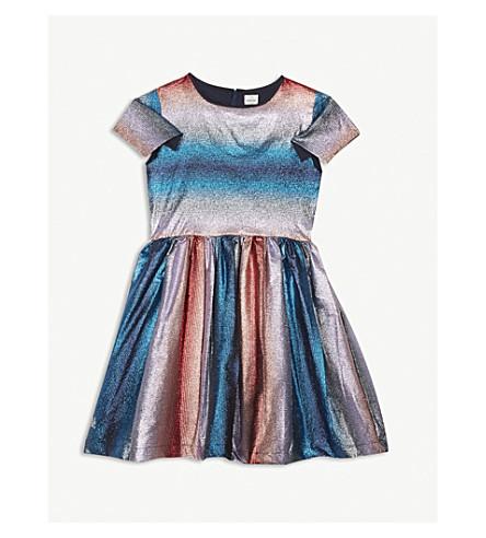 NO ADDED SUGAR Glitter stripe dress 4-12 years (Lurex+stripe