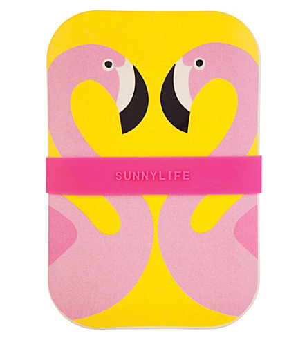 SUNNYLIFE Flamingo eco lunchbox