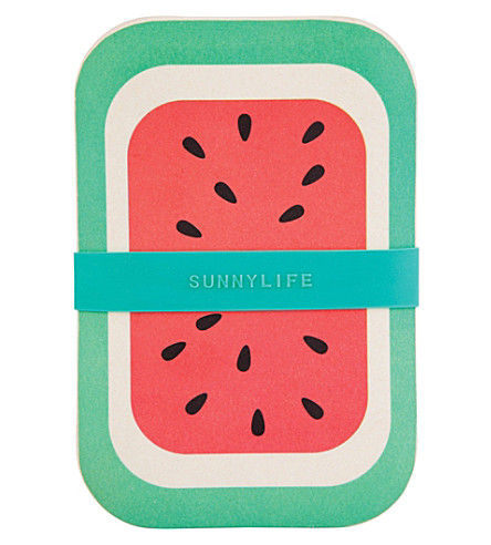 SUNNYLIFE Watermelon eco lunchbox