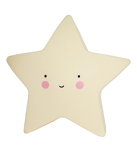 A LITTLE LOVELY COMPANY Mini star light (Yellow