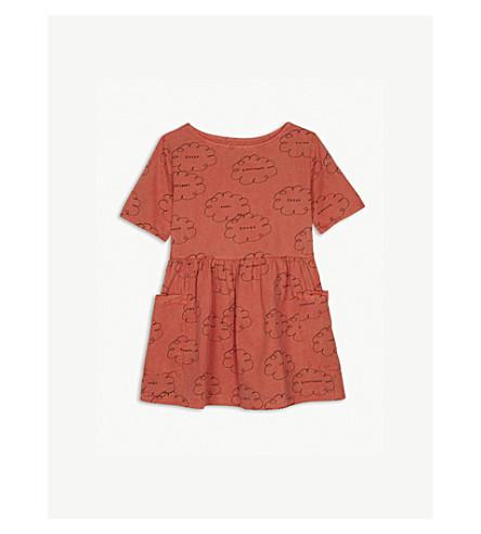 BOBO CHOSES Cloud print organic cotton dress 4-11 years (Pink