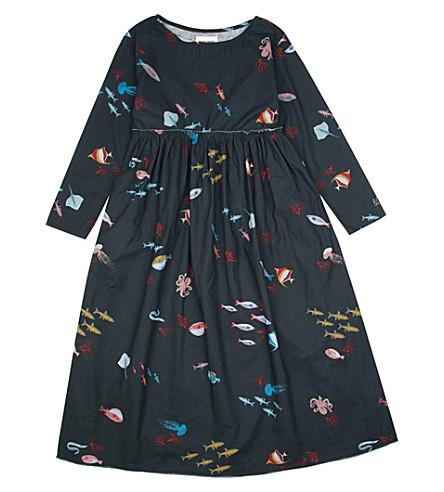 BOBO CHOSES Fish cotton dress (Black