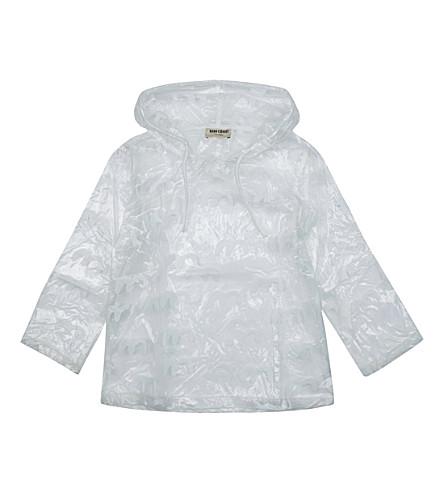 BOBO CHOSES Bird PVC rain coat (Clear