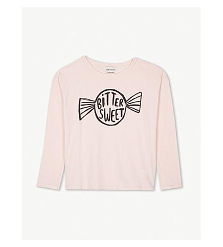 BOBO CHOSES Bitter Sweet cotton T-shirt 4-11 years (Pink