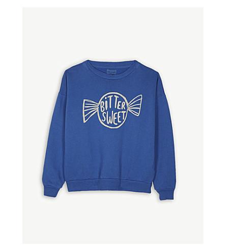 BOBO CHOSES Bitter sweet cotton sweatshirt (Blue