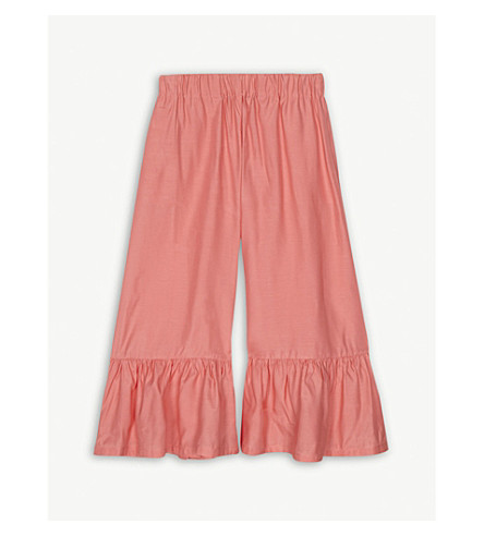 RASPBERRY PLUM Betty flared culottes 3-12 years (Coral