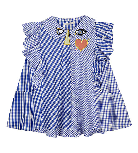 RASPBERRY PLUM Jacqueline cotton dress 3-10 years (Blue+stripe
