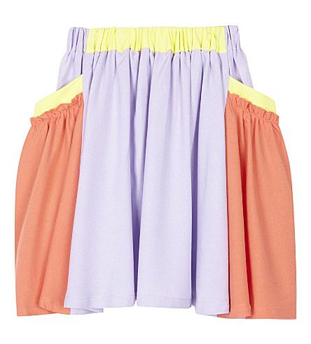 RASPBERRY PLUM Clementine pleated skirt 3-10 years (Multi