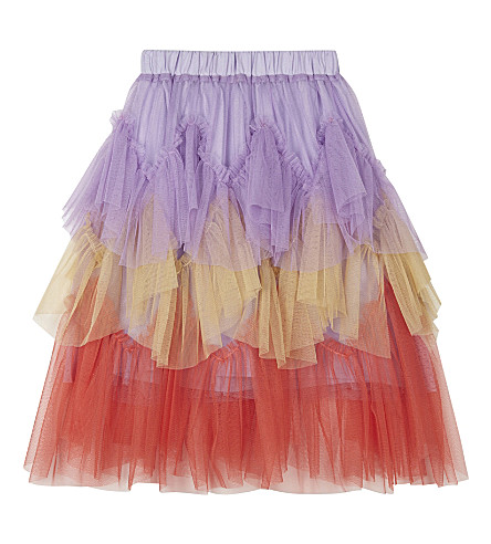 RASPBERRY PLUM Luciele tulle skirt 3-10 years (Multi