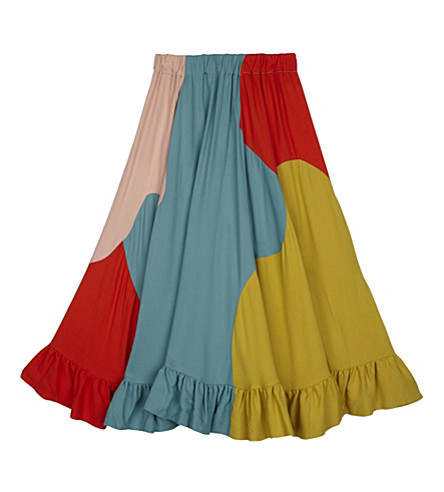 RASPBERRY PLUM Delaney multi-colour midi skirt (Multi