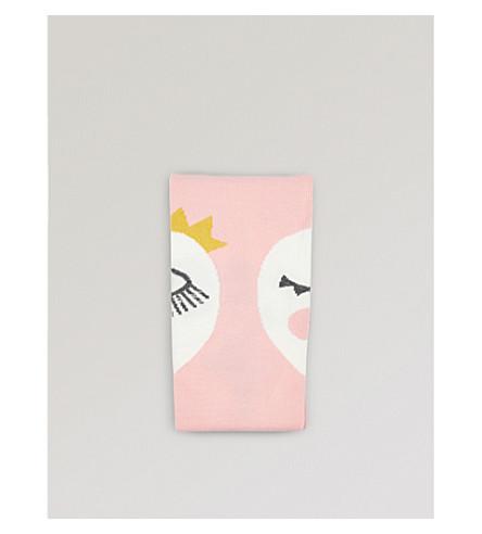 RASPBERRY PLUM 皇后棉混纺紧身裤3-12 年 (粉红色