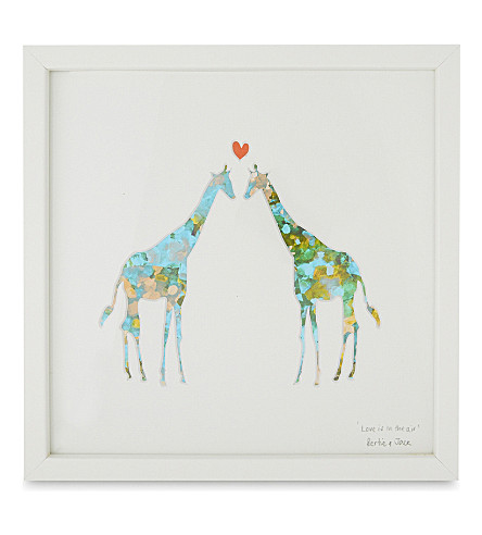 BERTIE & JACK Love is in the Air small print 24.7x24.7cm