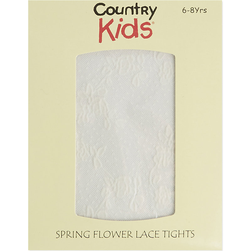 COUNTRY KIDS | Flower Lace Tights 1-11 Years | Goxip
