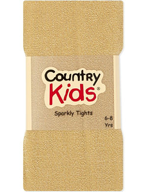 COUNTRY KIDS Sparkle tights 3-11 years