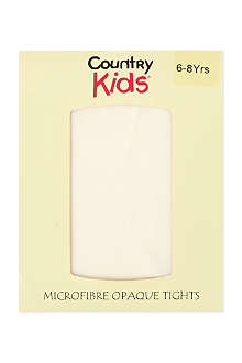 COUNTRY KIDS Microfibre tights 1-11 years