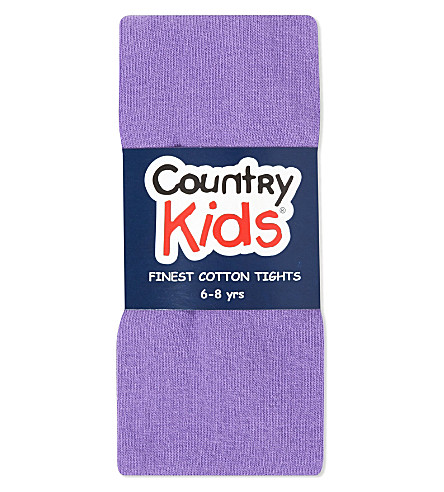 COUNTRY KIDS Classic cotton tights 1-11 years (Chalk