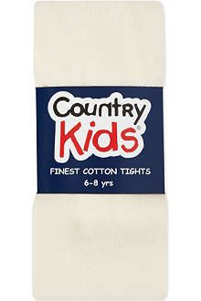 COUNTRY KIDS Classic cotton tights 1-11 years