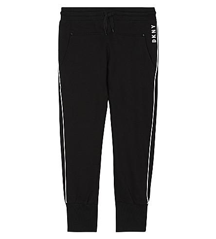 DKNY Logo print jogging bottoms 6-16 years (Black