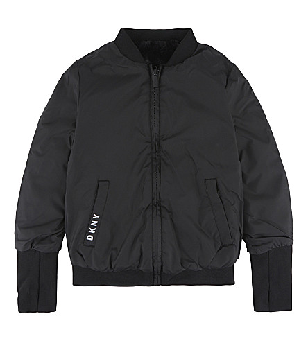 DKNY Reversible bomber jacket 6-16 years (Black