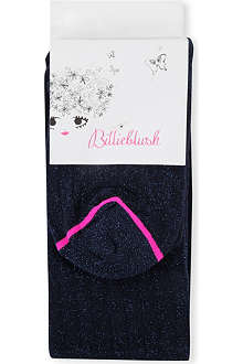 BILLIEBLUSH Flecked navy tights