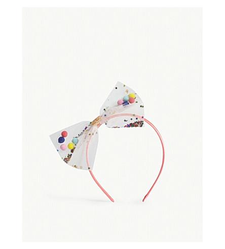 BILLIE BLUSH Sequins and pompoms headband (Unique