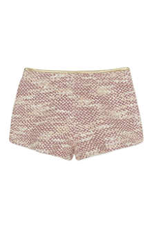 BILLIE BLUSH Knitted tweed shorts 4-12 years