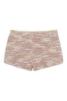 BILLIEBLUSH Knitted tweed shorts 4-12 years