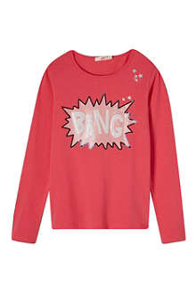 BILLIE BLUSH Sequin Bang top 4-12 years