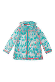 BILLIE BLUSH All-over print rain coat 4-12 years