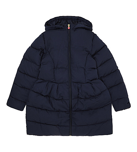 BILLIE BLUSH Flared puffa jacket 4-12 years (Navy